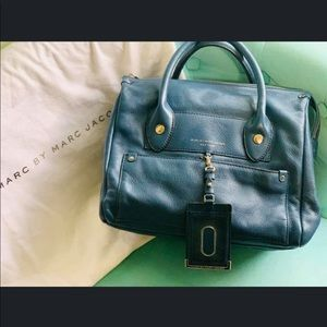 Marc Jacobs Navy Leather Purse
